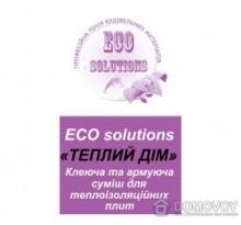"""Клеевая и армирующая смесь для пенопласта 25 кг ECO solution """"Теплий дім""""   код товара 166"""
