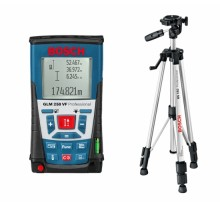 Лазерный дальномер Bosch GLM 250 VF + BS150    Код товара: 29331